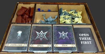 Organizador (Insert) para Dungeon Saga