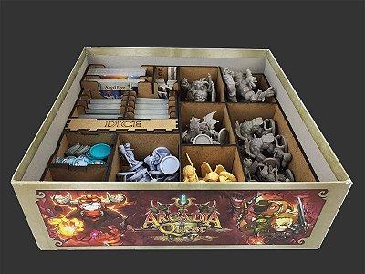 Organizador (Insert) para o jogo Arcadia Quest Inferno