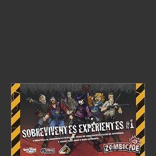 Sobreviventes Experientes - Expansão Zombicide