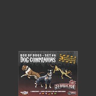 Dog Companions - Expansão Zombicide