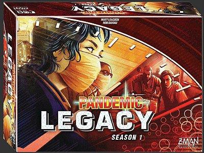 Pandemic Legacy - Vermelho
