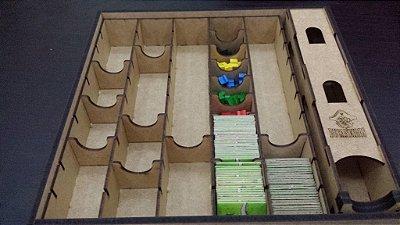 Caixa organizadora para Carcassonne