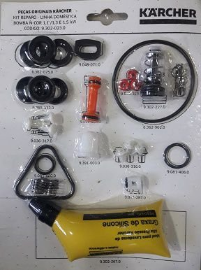 Kit reparo Bomba N-Cor  1,1 / 1,3 / e 1,5 Kw