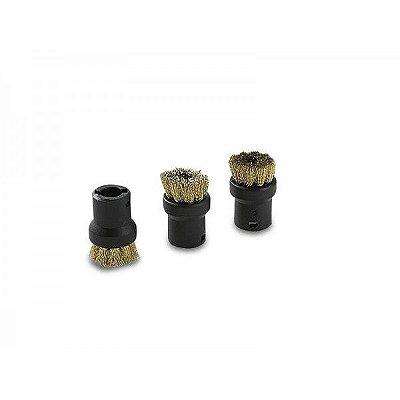 Escova Circular de metal para limpadora a vapor (3 un)