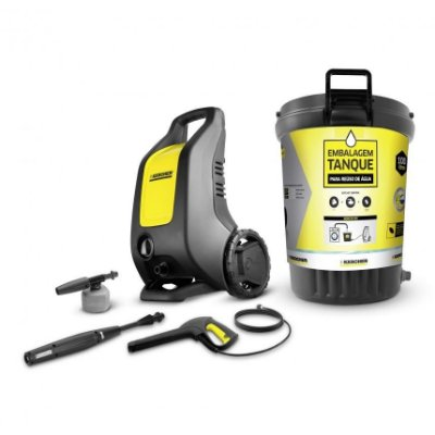 Lavadora de Alta Pressão Karcher K 2500 c/ Kit Embalagem Tanque - Para Reúso de Água + Kit Filtro