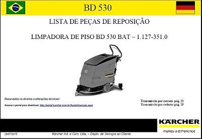 Vista explodida BD 530 Bat