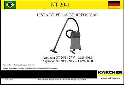 Vista explodida NT 20/1