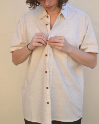 Camisa Off White Manga Curta