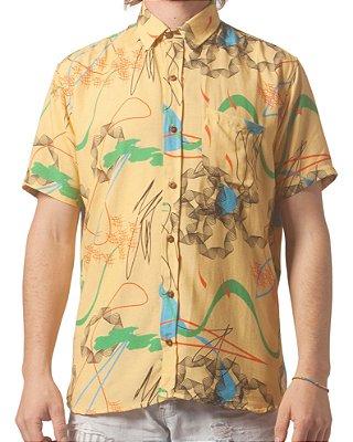 Camisa Estampada Hadid Manga Curta