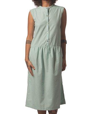 Vestido Zaha Verde