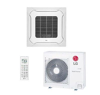 Ar Condicionado Split Cassete Inverter LG31000 Btus Quente/frio 220V Monofasico