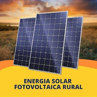 Energia Solar Fotovoltaica Rural