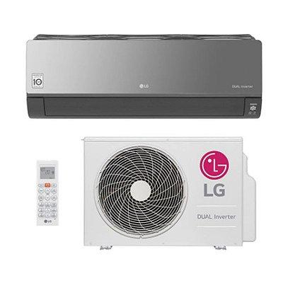 Ar Condicionado Split Hw Dual Inverter Voice Art Cool Lg 18000 Btus