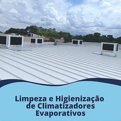 Limpeza e Higienização de Climatizadores Evaporativos