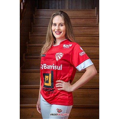 Camiseta São Luiz Vermelho e Branco 2020
