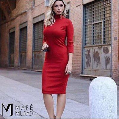 Vestido Mid Marsala