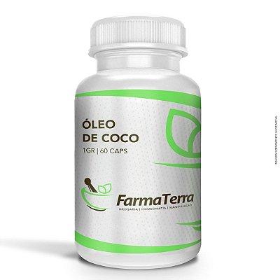 Óleo de Coco 1 grama - 60 Caps