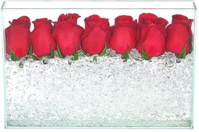 Cristais com Rosas