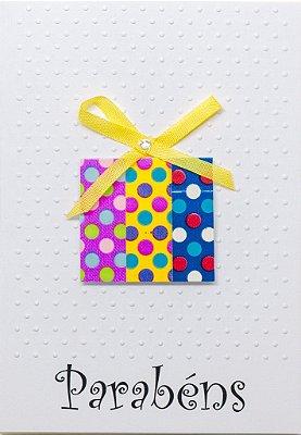 Cartão Parabéns