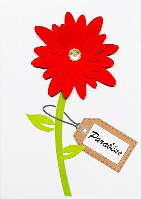 Cartão Flor