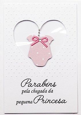 Cartão Bebê Princesa