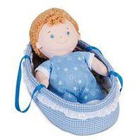 Boneco Bebê no Moisés Menino