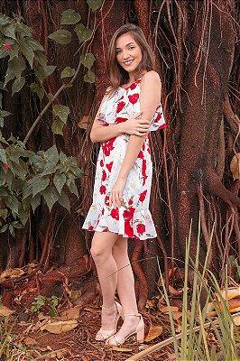 Vestido Flora Off
