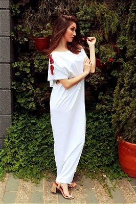 Vestido Lagosta Branco
