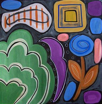 Pintura Visão alternativa (peça única, tamanho 70x70)