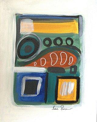 Pintura Abstrato II (peça única, tamanho 41x32)