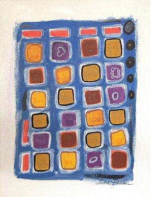 Pintura Abstrato III (peça única, tamanho 41x32)