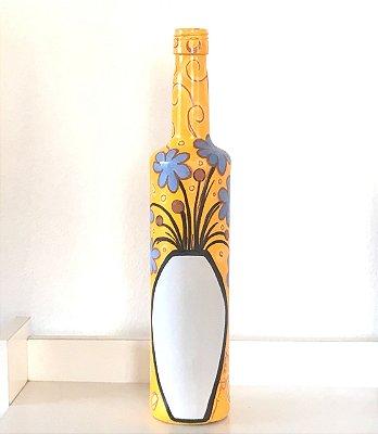 Garrafa Vaso com flores II