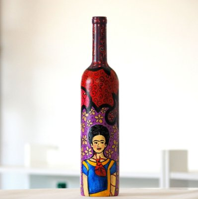 Garrafa Frida Kahlo V