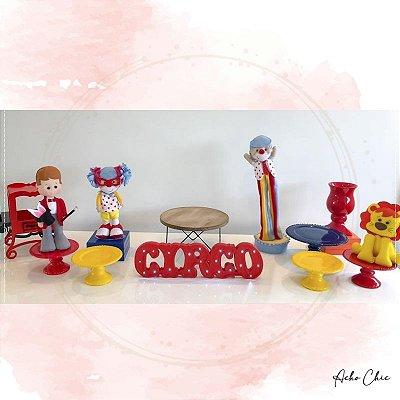 Kit Circo Menino - Locação