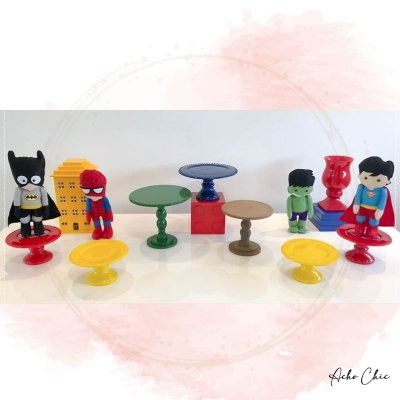 Kit Super Heróis - Locação