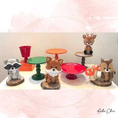 Kit Bosque Mini Table - Locação