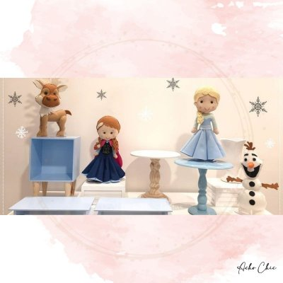 Kit Frozen Mini Table - Locação