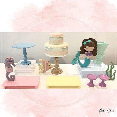 Kit Sereia Mini Table - Locação