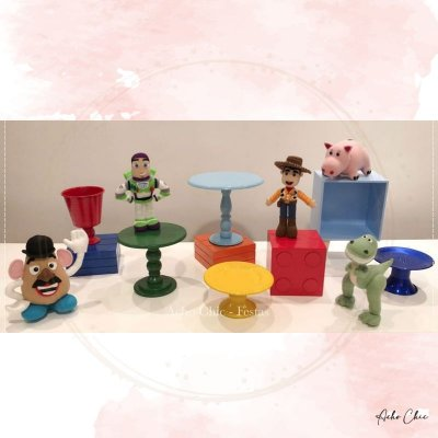 Kit Toy Story Mini Table - Locação
