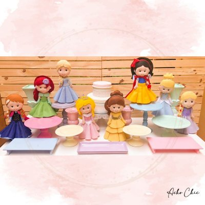 Kit Princesas 2 - Locação
