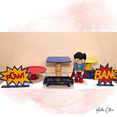 Kit Econômico Super Homem - Locação
