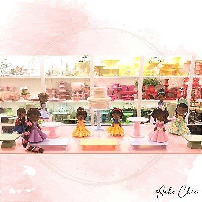 Kit Princesas Negras - Locação
