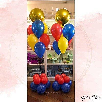 Bouquet Balões (Cores personalizáveis)