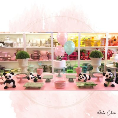 Kit Panda - Locação