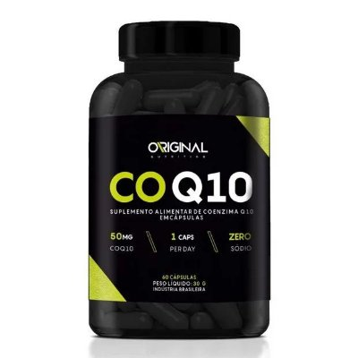 CoQ10 Coenzima Q10 60 Cáps - Original Nutrition