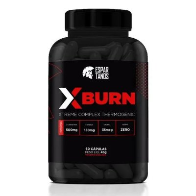 X Burn Xtreme Complex Thermogenic 60 Cáps - Espartanos