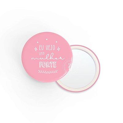 Kit Espelho de Bolsa Mulher Forte