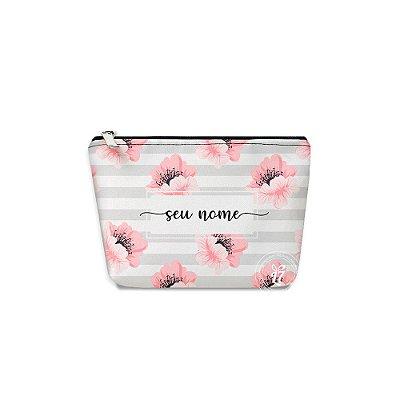 Kit Necessaire Personalizada Floral Listrada