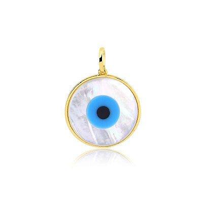 2 Pingente Olho Grego 20mm