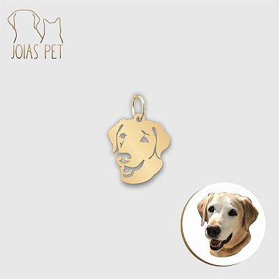Pingente Personalizado Pet/cachorro Cabeça 12mm